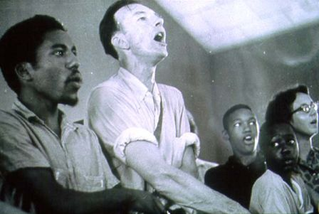 Roger Johnson and Pete Seeger We Shall Overcome