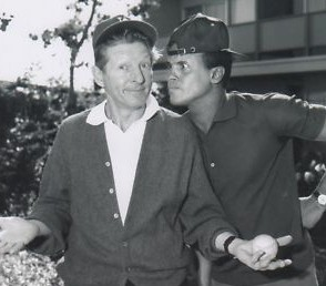 Harry Belafonte and Danny Kaye